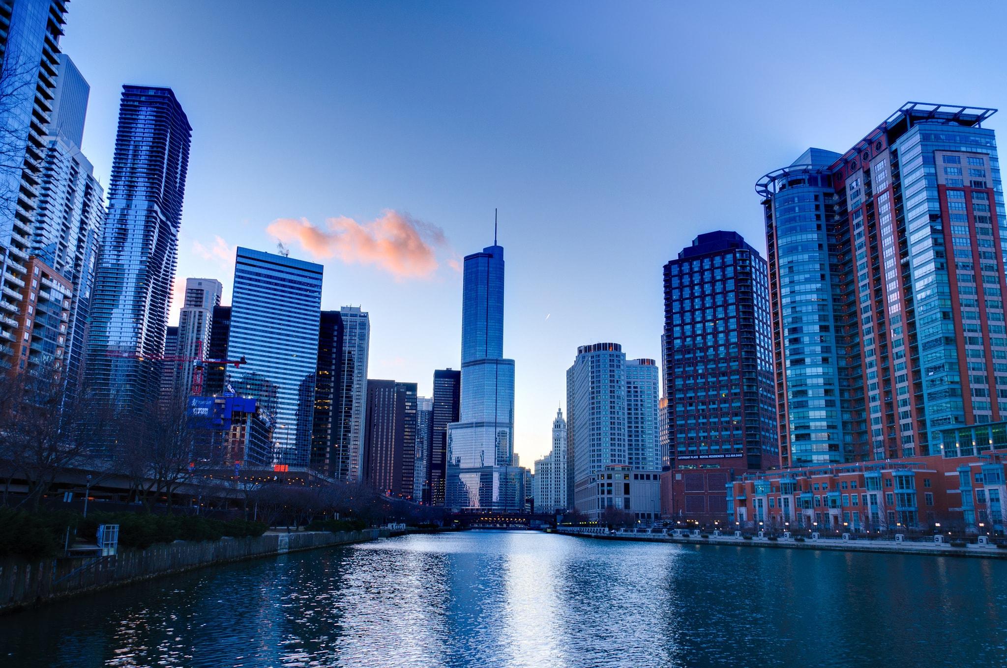 64 chicago hd wallpaper on wallpapersafari - Chicago skyline wallpaper 1920x1080 ...
