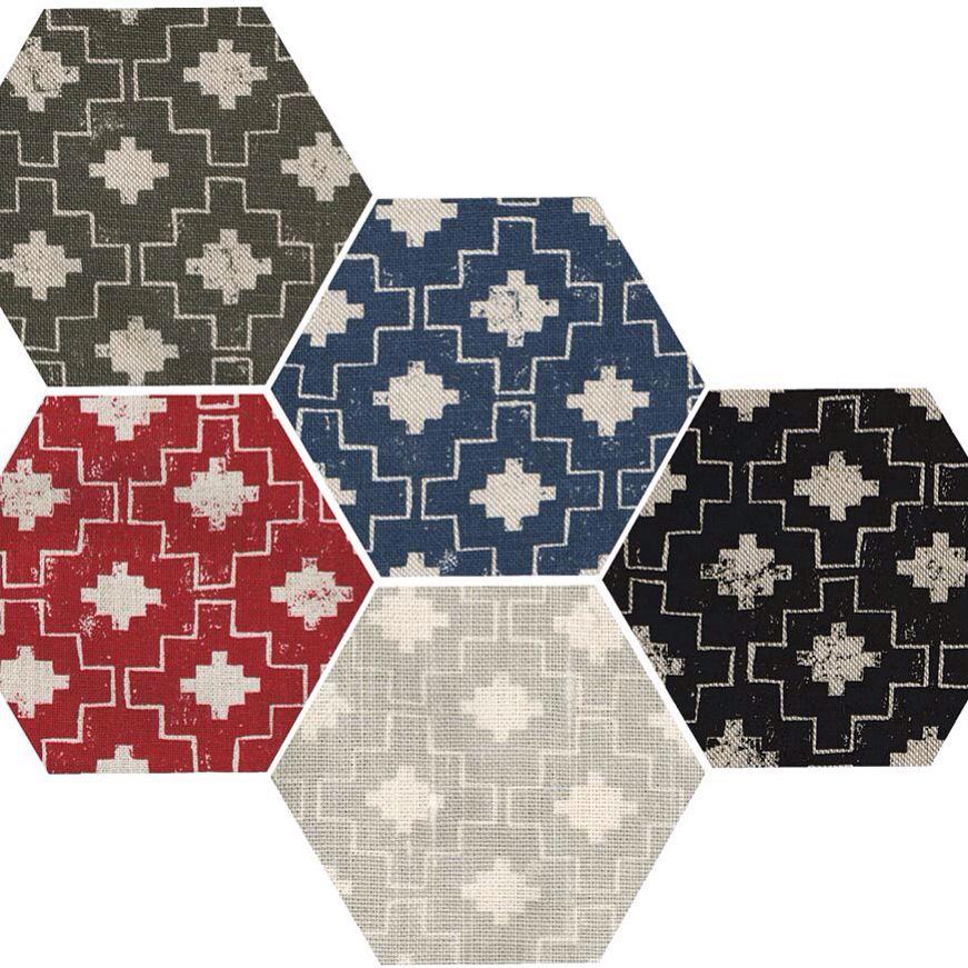Casa hand silkscreened linen colourways lindsayalkercom Fabric 871x871