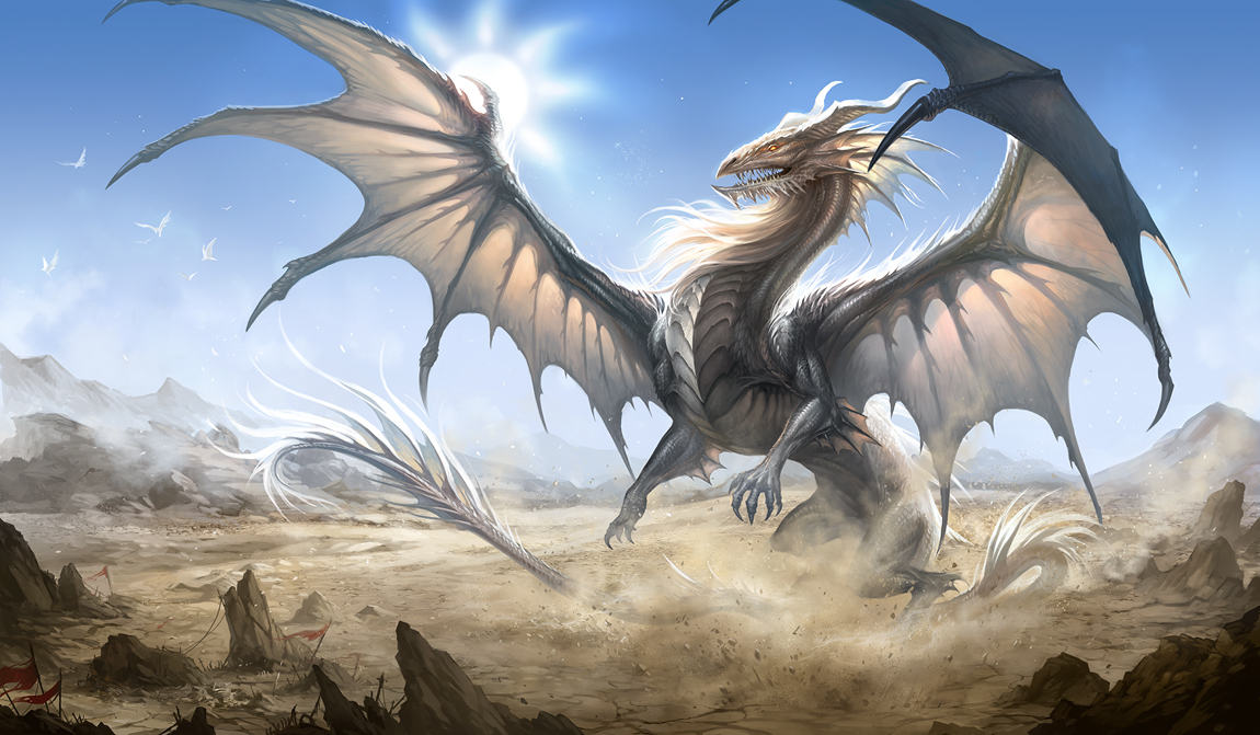 White Dragon by Sandara 1150x671