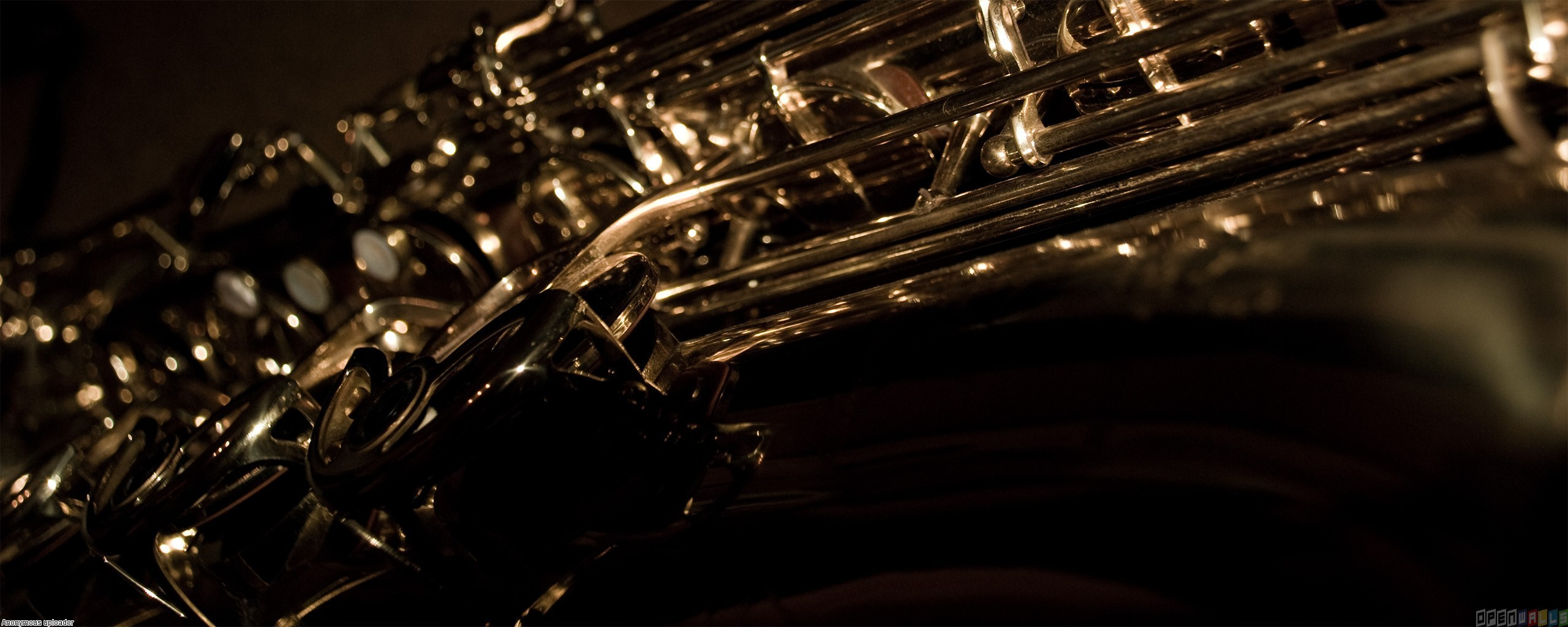 Saxophone wallpaper 7873 2560x1024