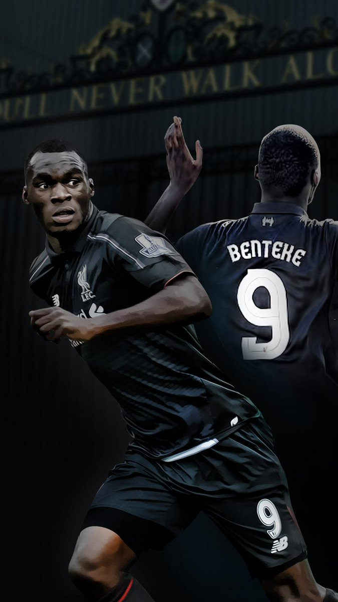 Linn B on Twitter Phone wallpaper of Liverpools Benteke Use as 675x1200