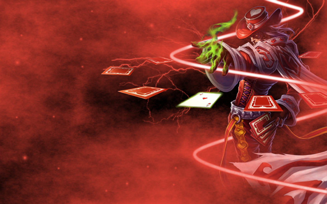 Twisted Fate Background League of Legends by dambrony 1131x707