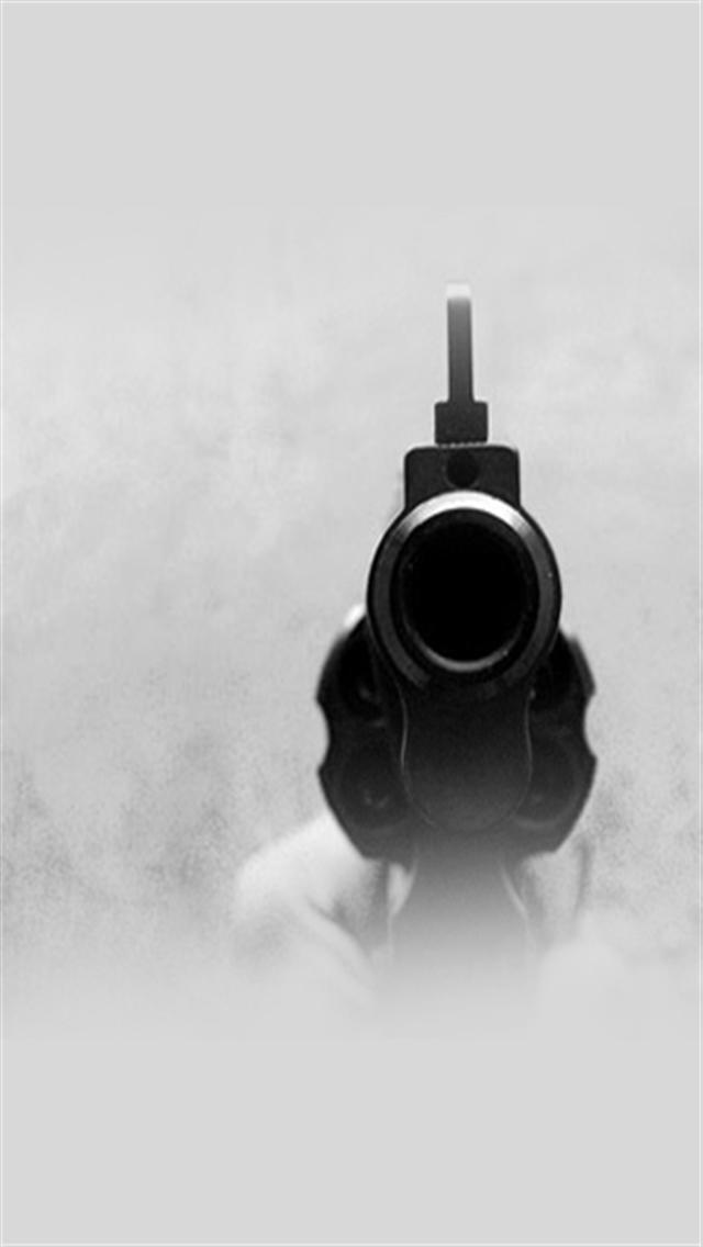 Barrel Of The Gun IPhone Wallpapers 5s4s3G 640x1136