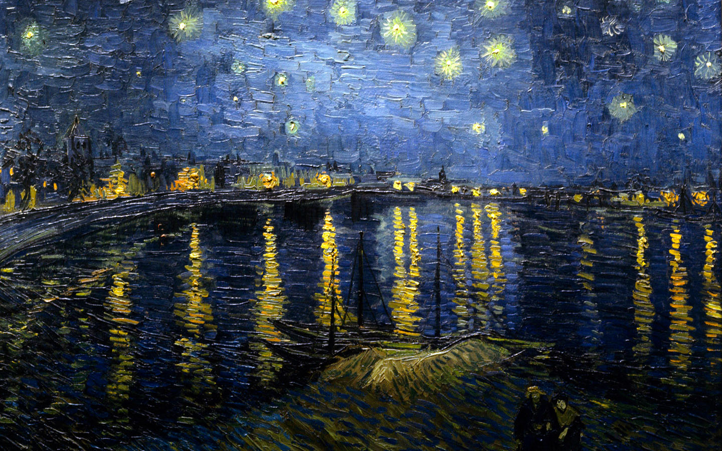 van gogh wallpaper Wallpapers 1440x900