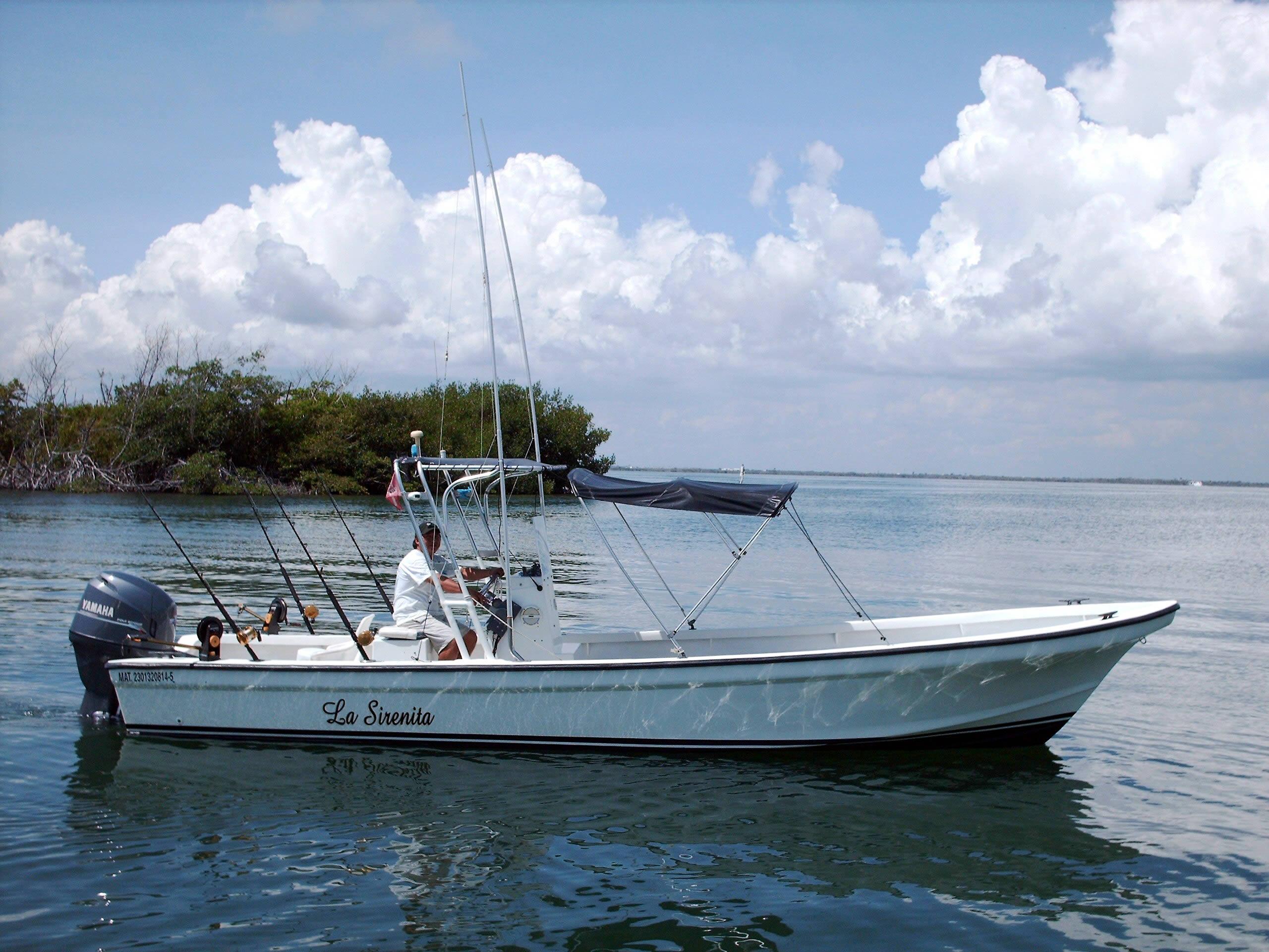 Sport fishing boat wallpaper wallpapersafari for Yamaha fishing boats