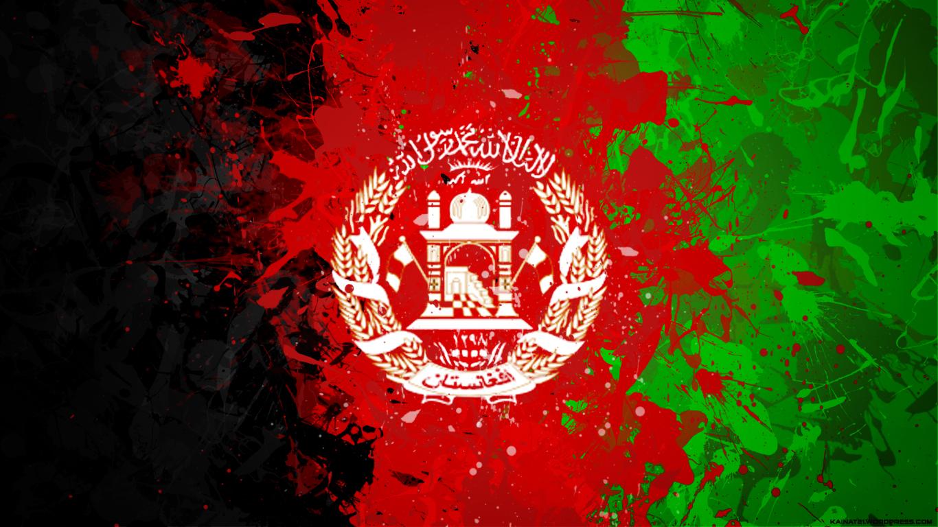 afghanistan flag Kainat  Desktop Wallpapers 1366x768