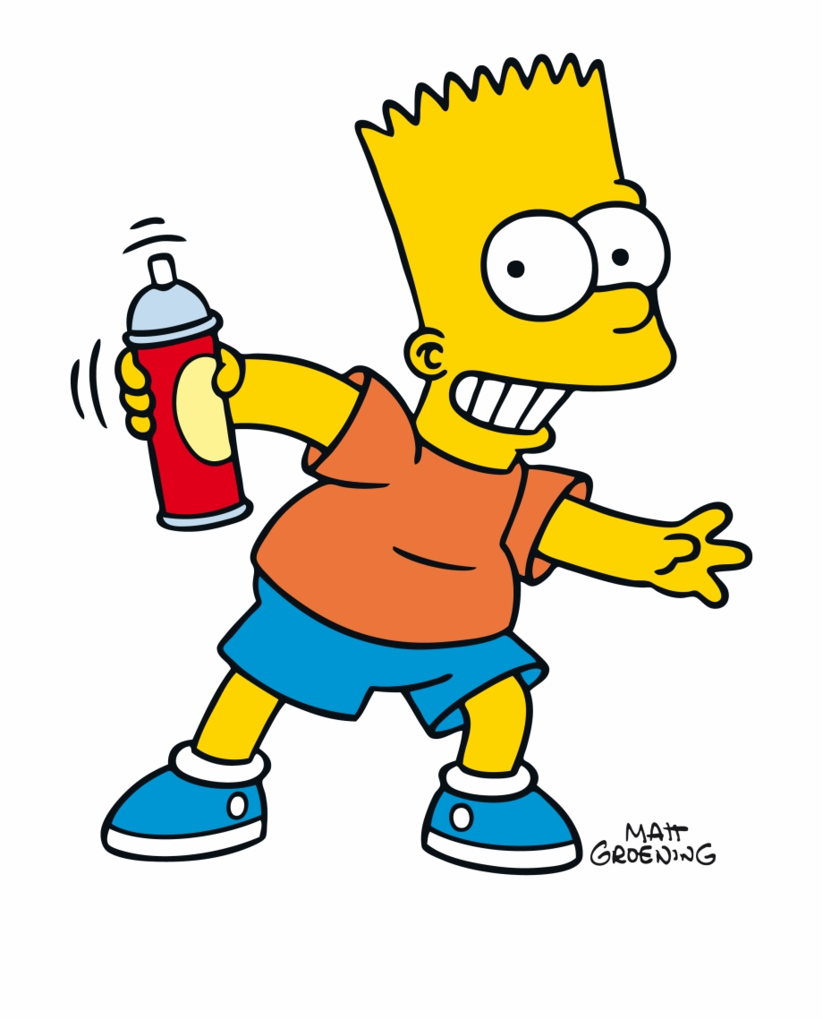 Clipart Download Bart Simpson Png   Simpson Supreme Wallpaper 920x1139