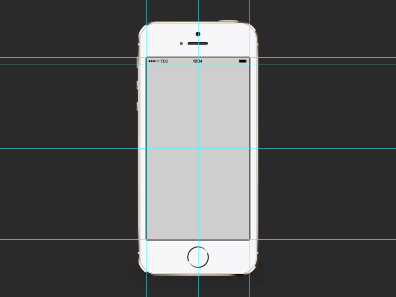Back Gallery For iphone 5 skin template vector 800x600