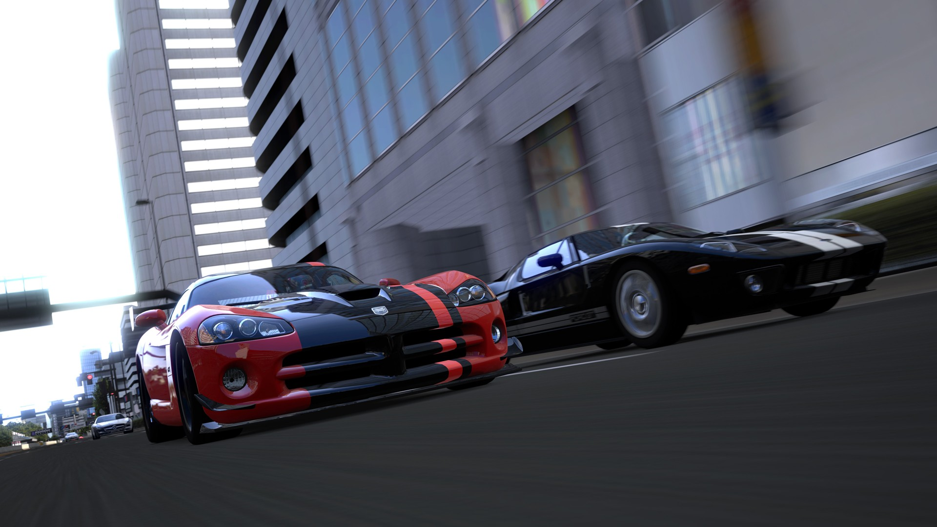 Ford GT Wallpaper 1920x1080 Ford GT Gran Turismo 5 Dodge Viper 1920x1080