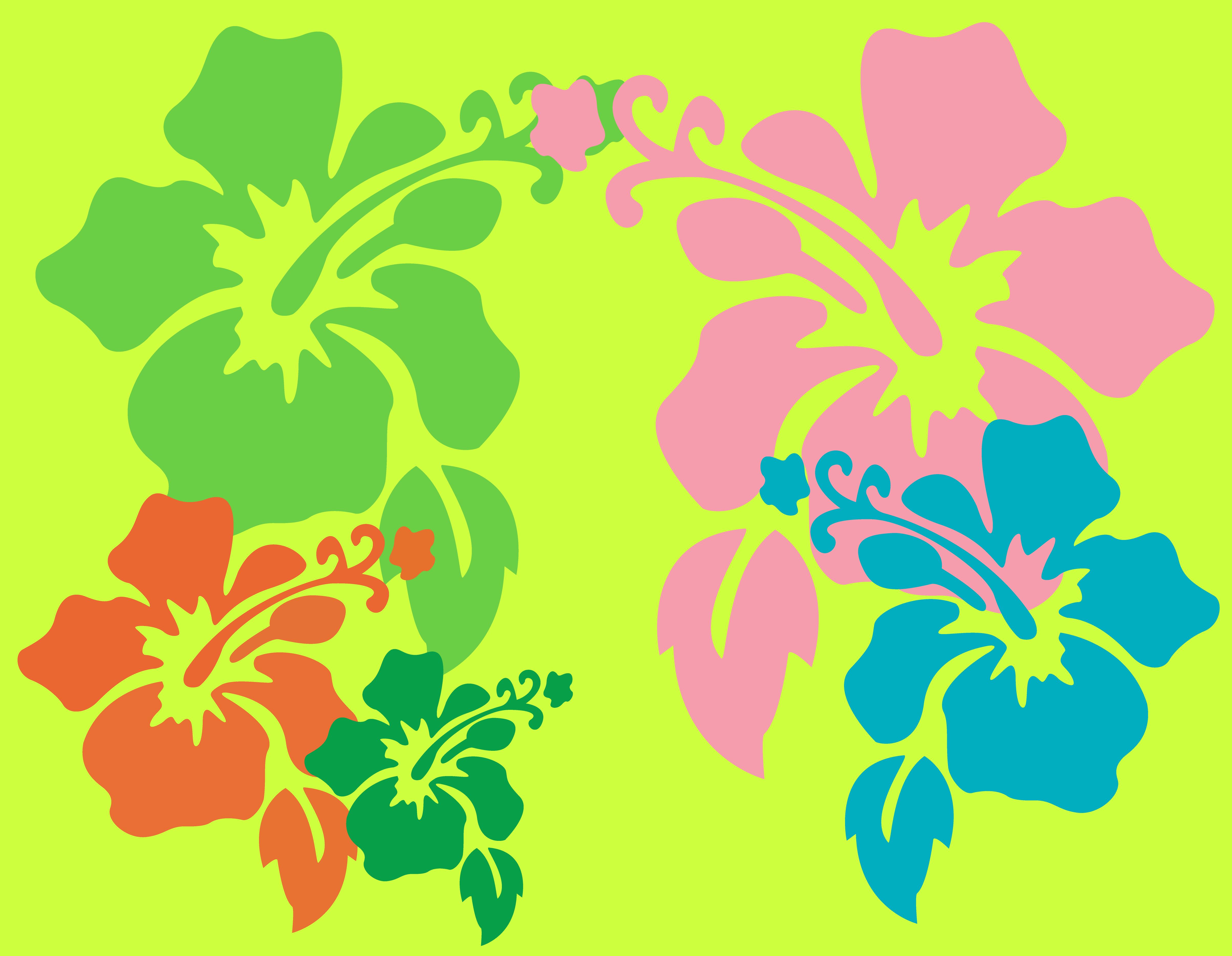 Hawaiian flower backgrounds wallpapersafari hawaiian flower wallpaper by dtgraphicsandprints 4814x3736 izmirmasajfo