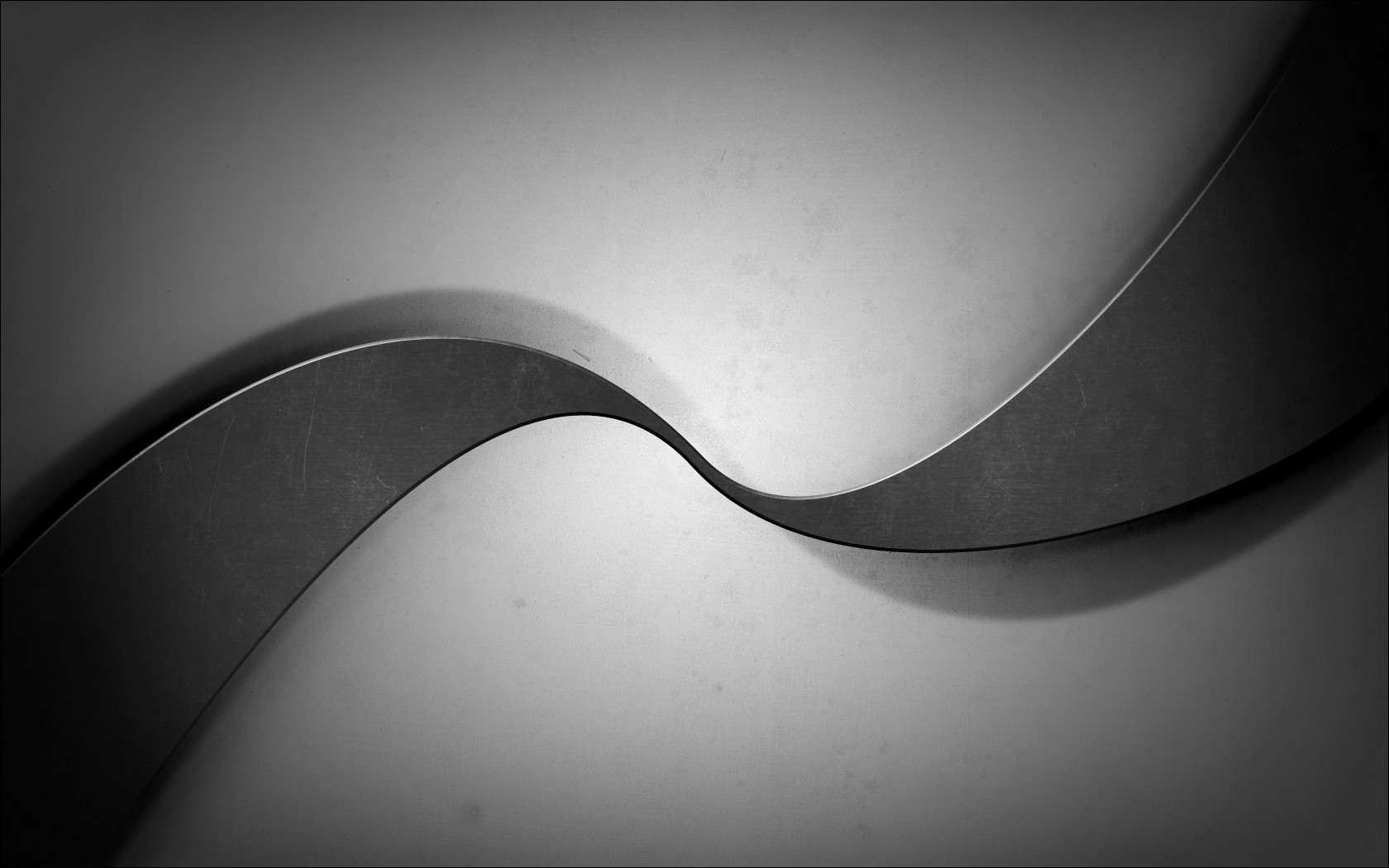 Black Gray Grey White Curves Abstract   1680x1050 iWallHD   Wallpaper 1680x1050