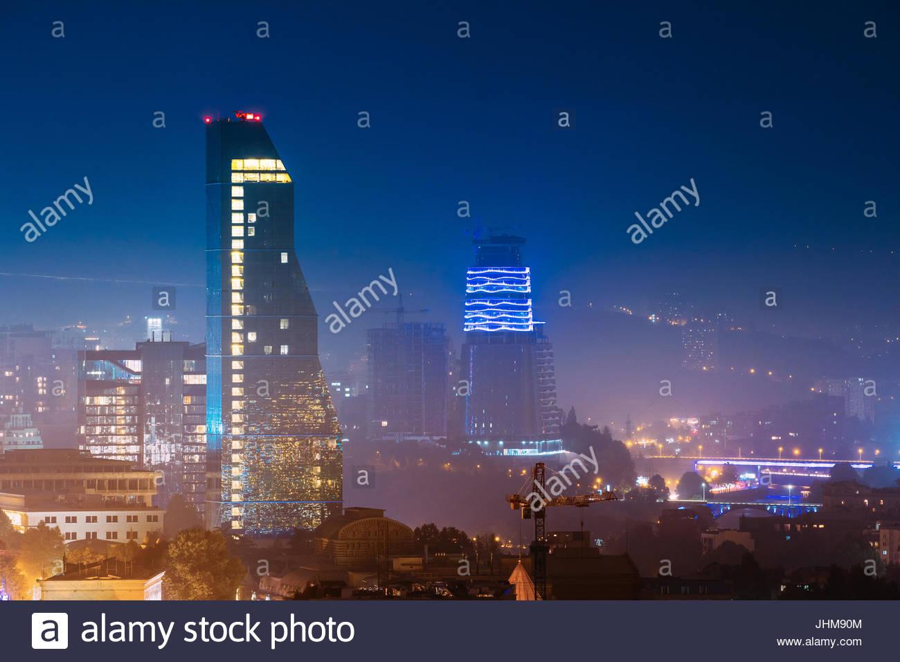 Tbilisi Georgia   October 21 2016 Construction Development Of 1300x956