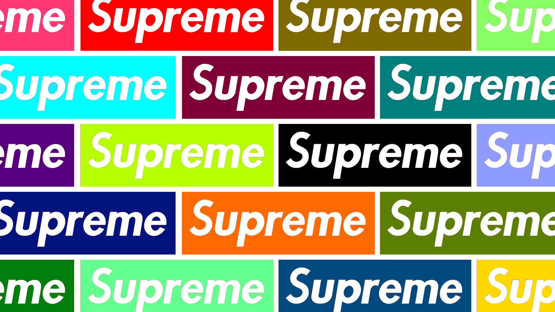 Colorfull Supreme Wallpaper v1 by ElegantComplex 1920x1080