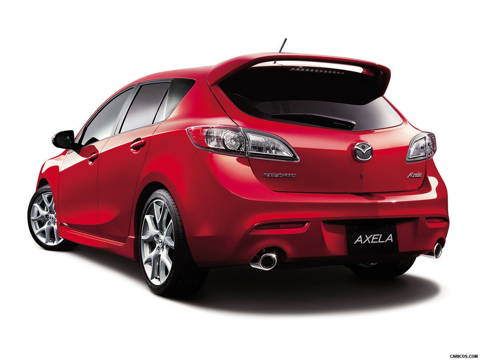 2012 Mazda MazdaSpeed 3   Rear Wallpaper 3 1600x1200