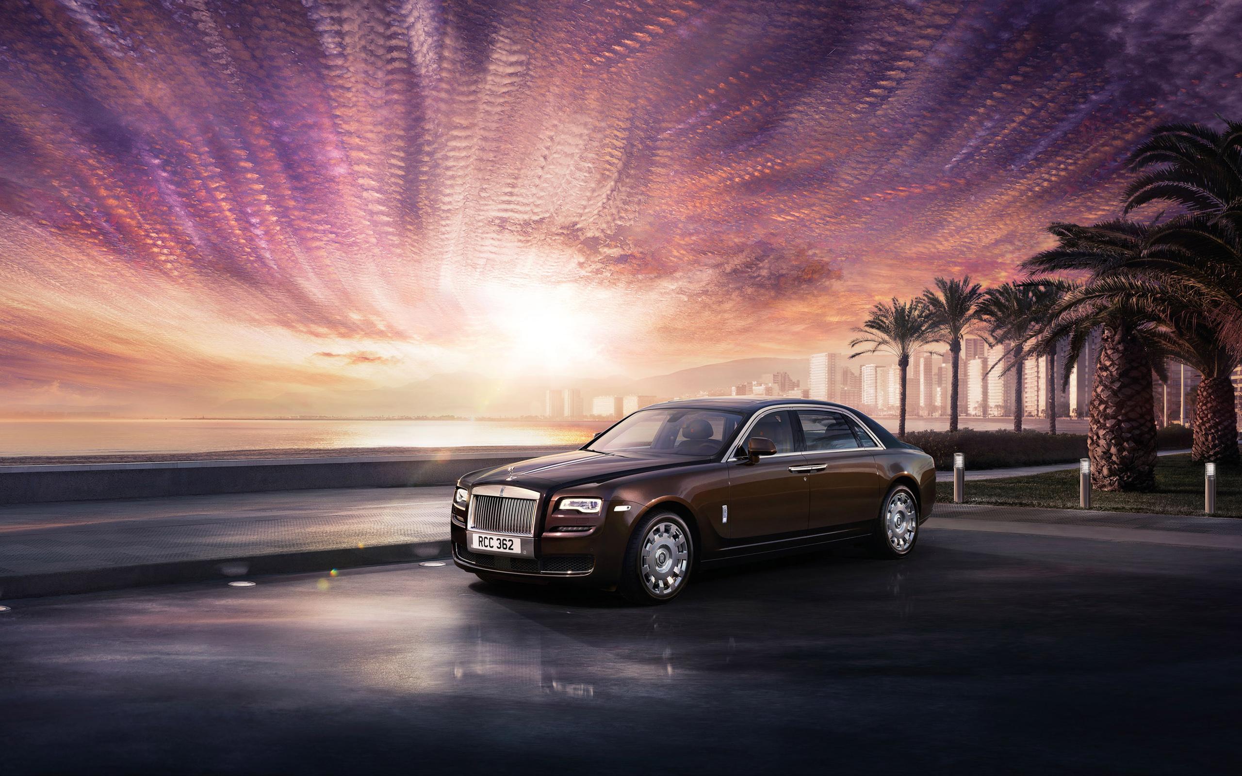 Rolls Royce Ghost Series II 2015 Wallpapers HD Wallpapers 2560x1600