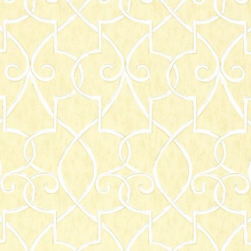 Hampton Lattice Wallpaper in Yellow   Geometric Wallpaper   Wallpaper 500x500
