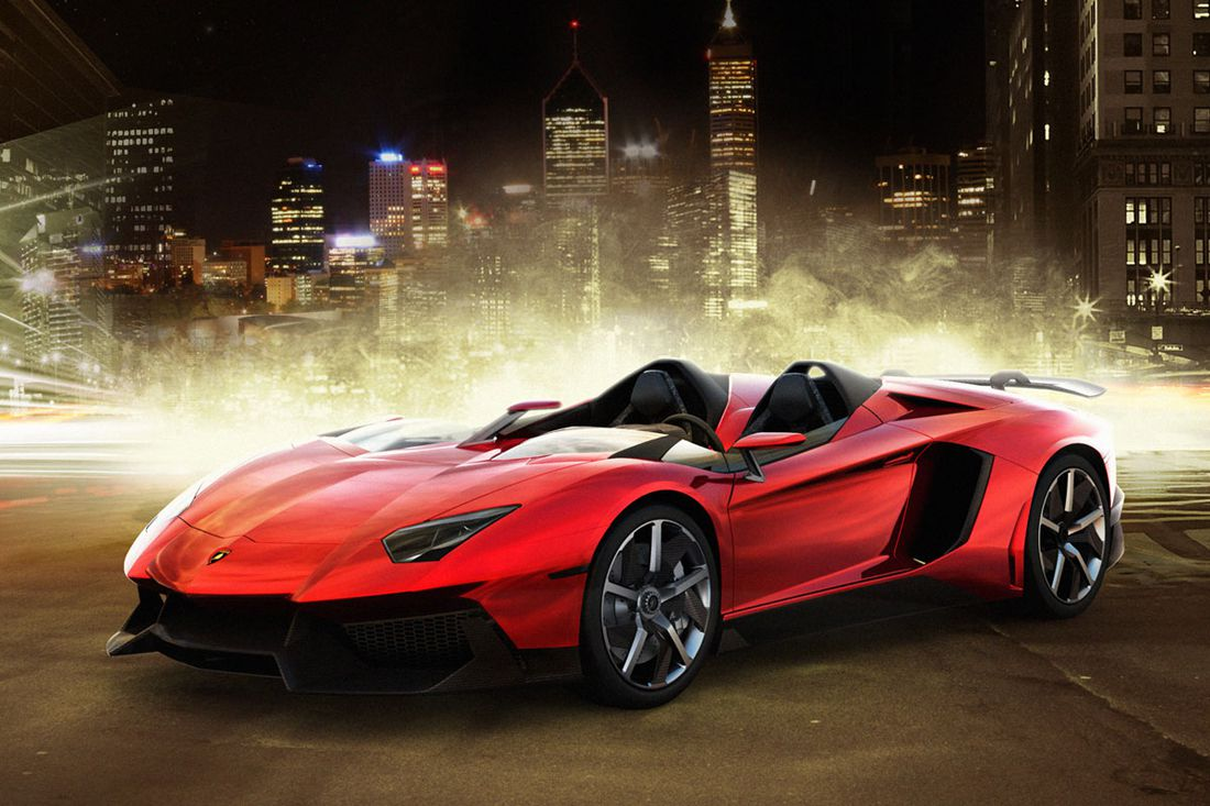 Free Download Lamborghini Aventador Roadster Widescreen Wallpapers