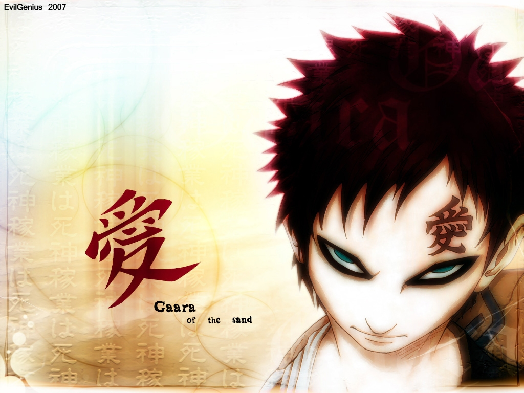 Naruto Gaara Wallpaper Anime Wallpaper Pictures in HD 1024x768