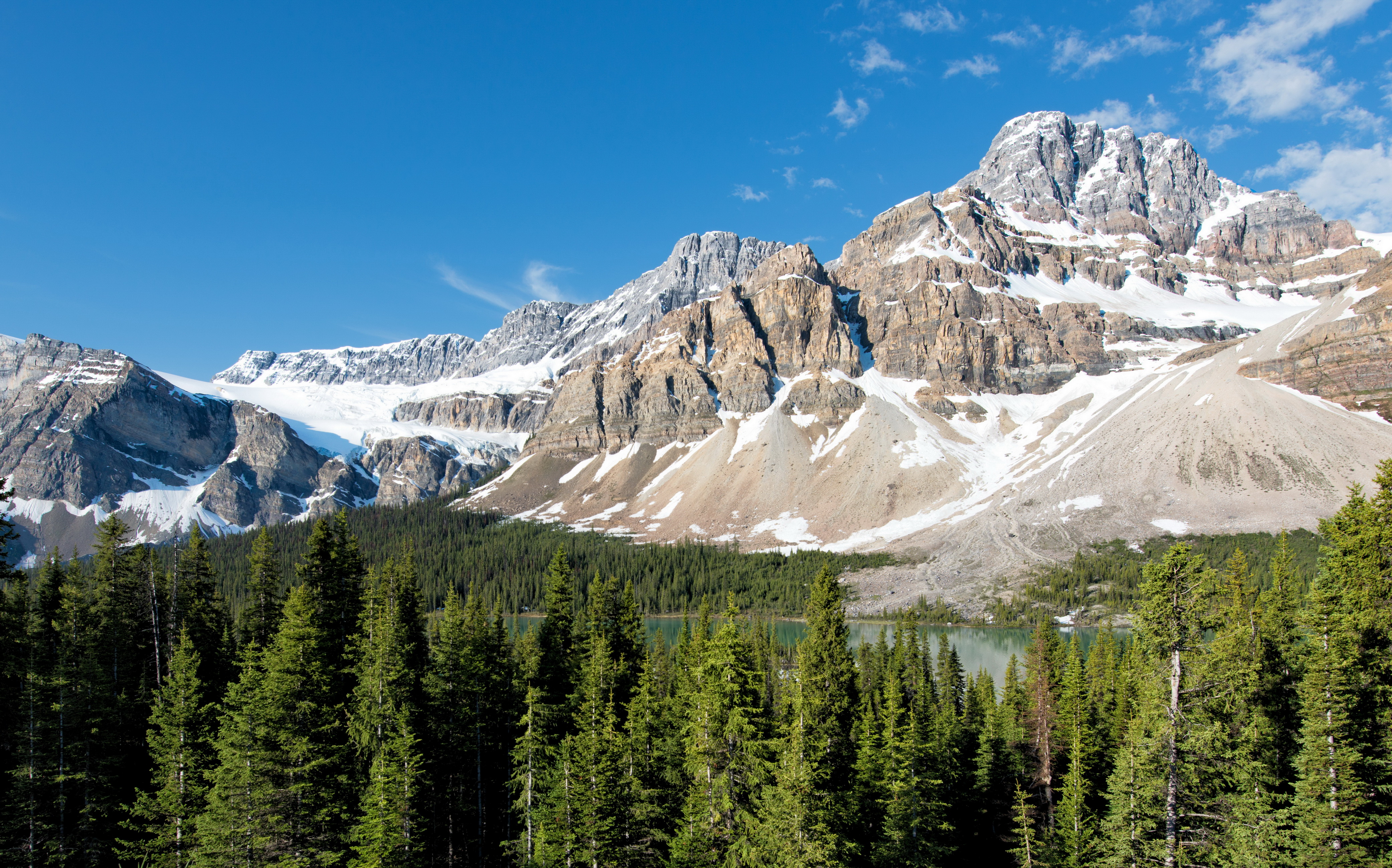 Parks Canada Mountains Scenery Banff Crag Nature wallpaper 4168x2600 4168x2600