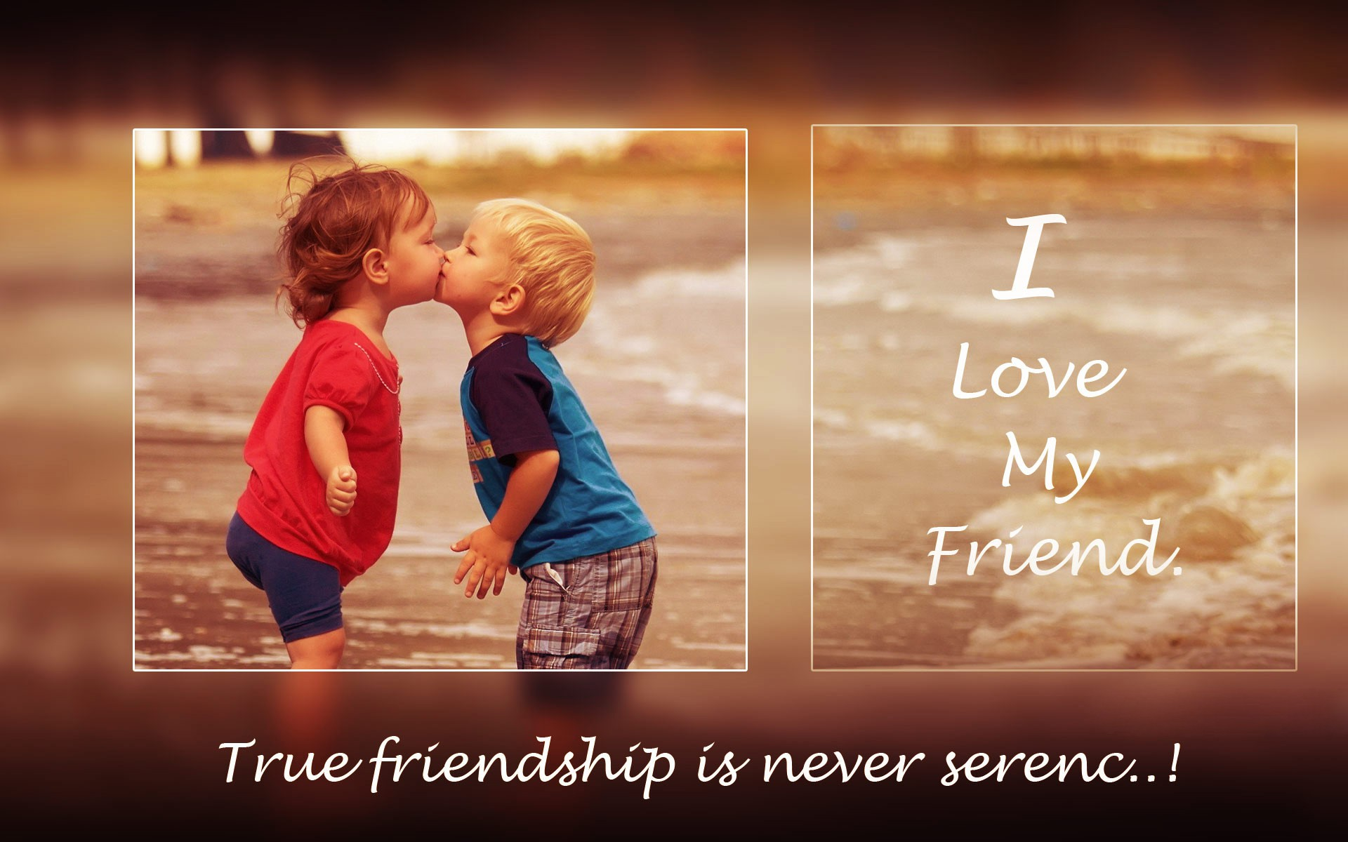 Wallpaper download love and friendship - Cute Child Friend Love Hd Wallpapers New Hd Wallpapers