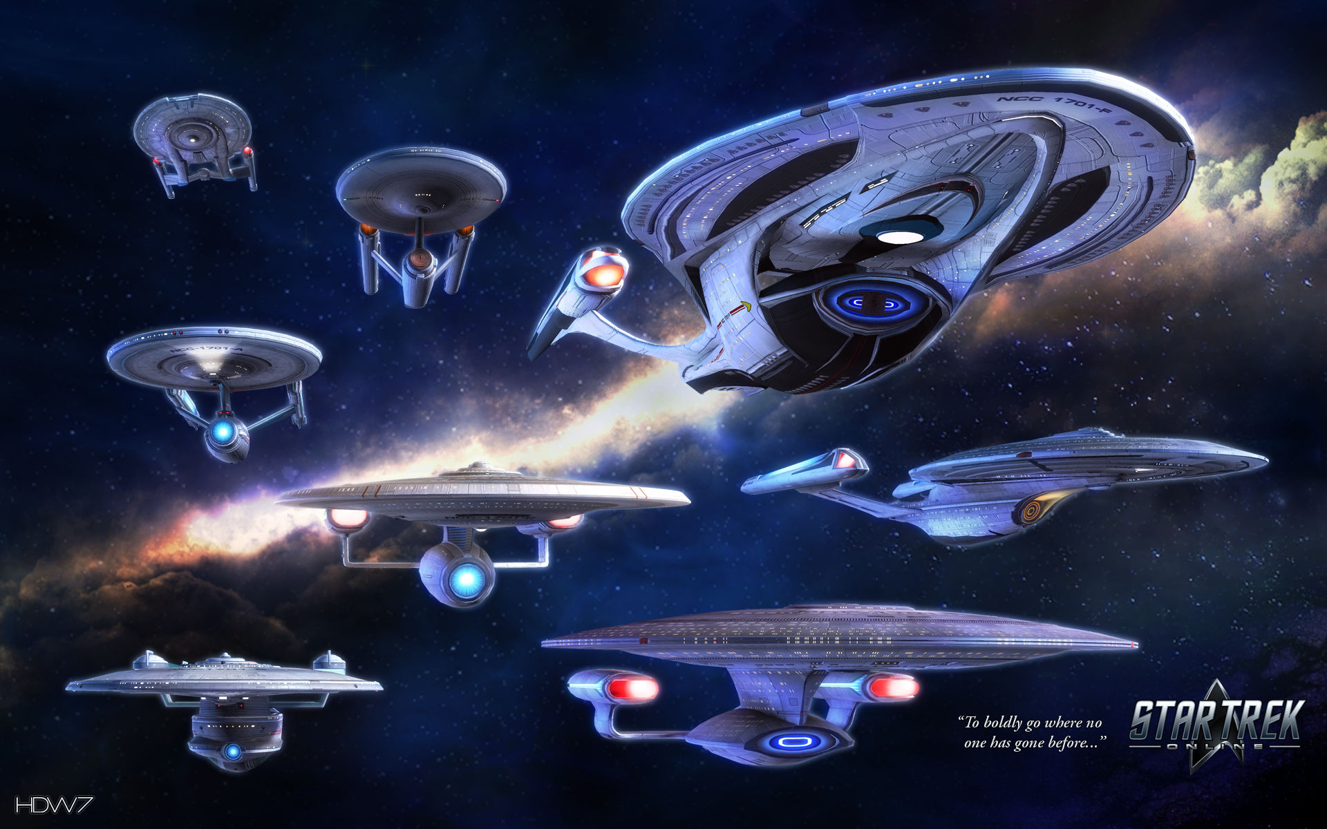 star trek online to boldly go widescreen wallpaper HD 1920x1200