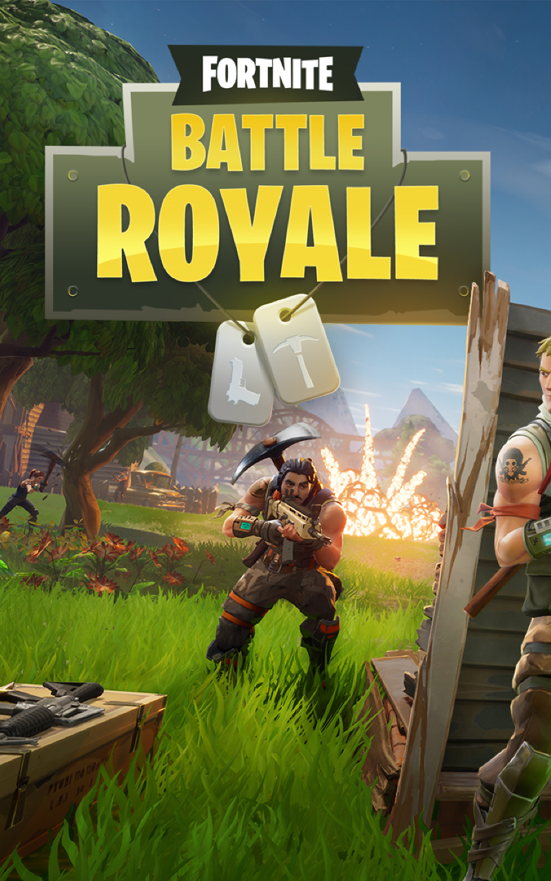Fortnite Battle Royale Full HD Wallpaper 800x1280