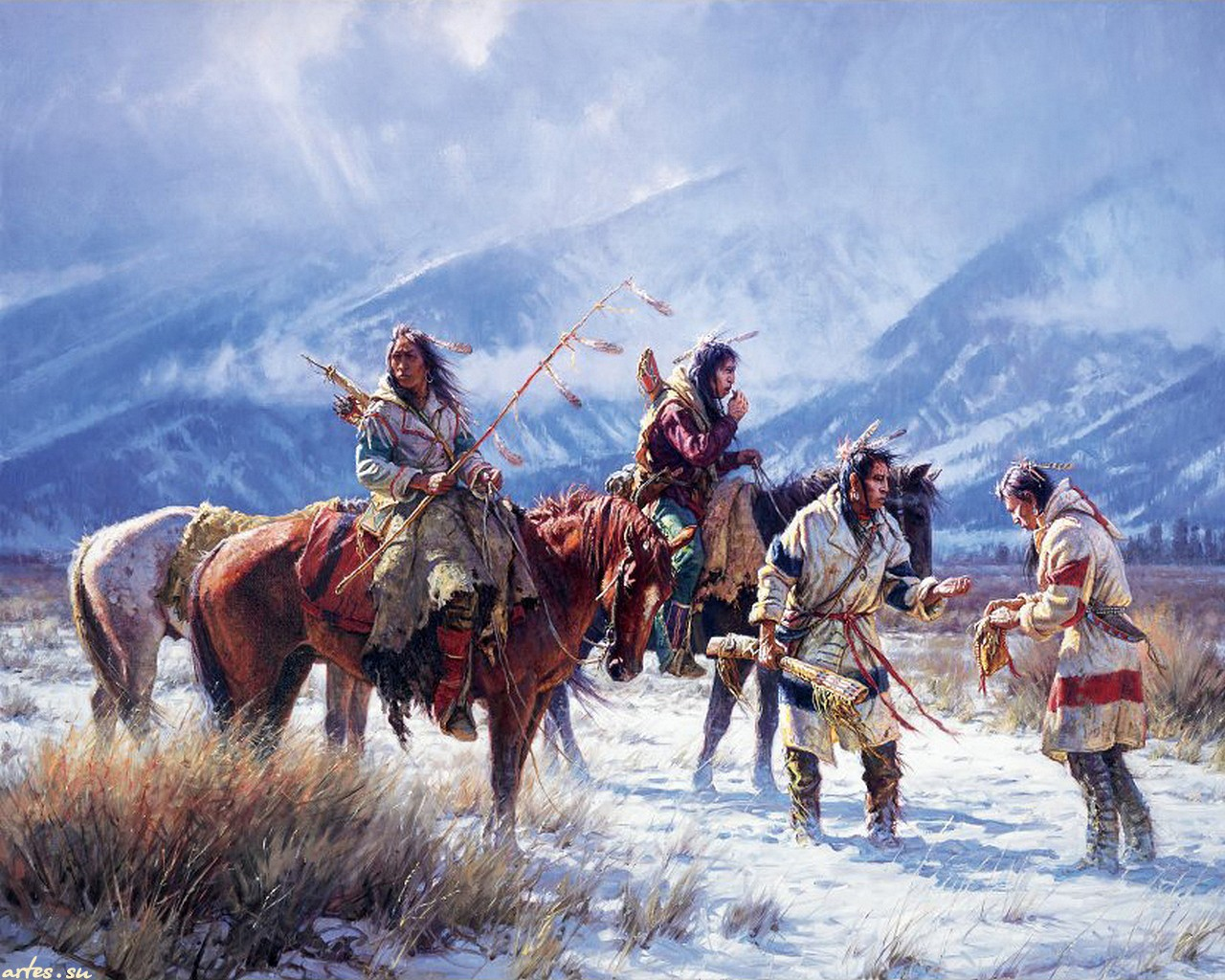 Native American Computer Wallpapers Desktop Backgrounds 1280x1024