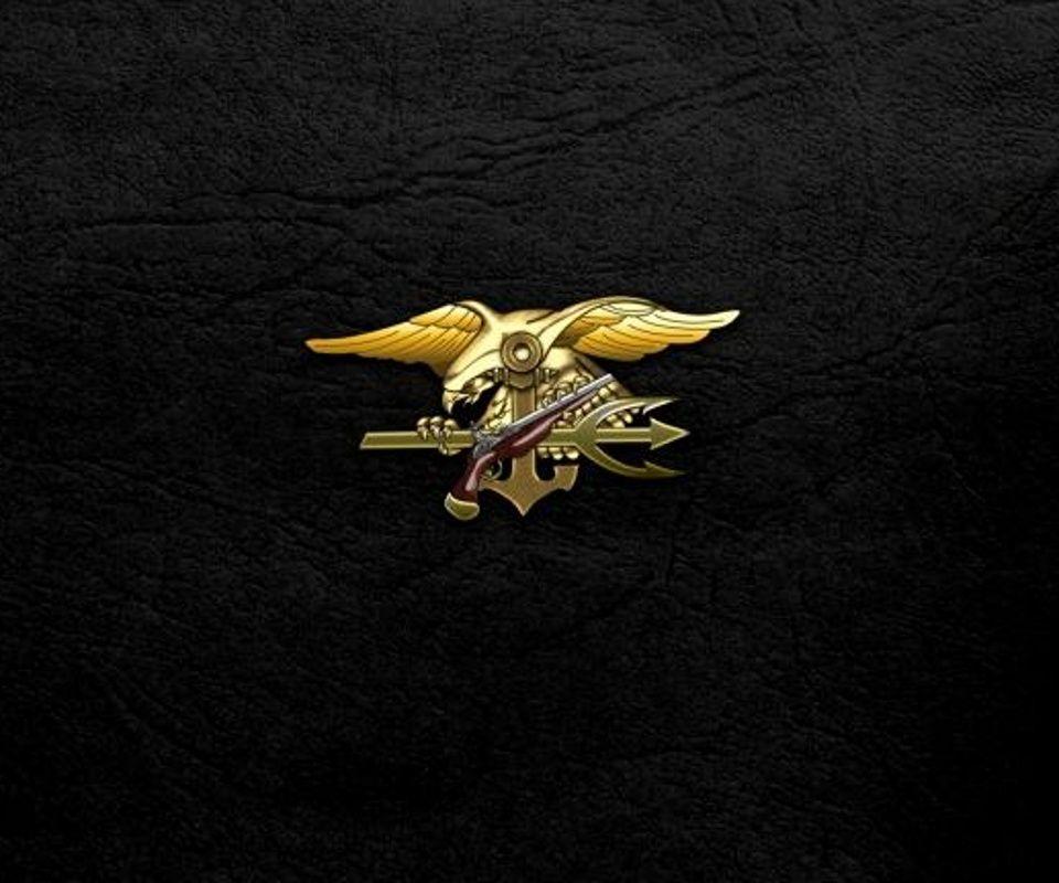 Navy Seal Logo Wallpaper  Imagenes Sniper 960x800