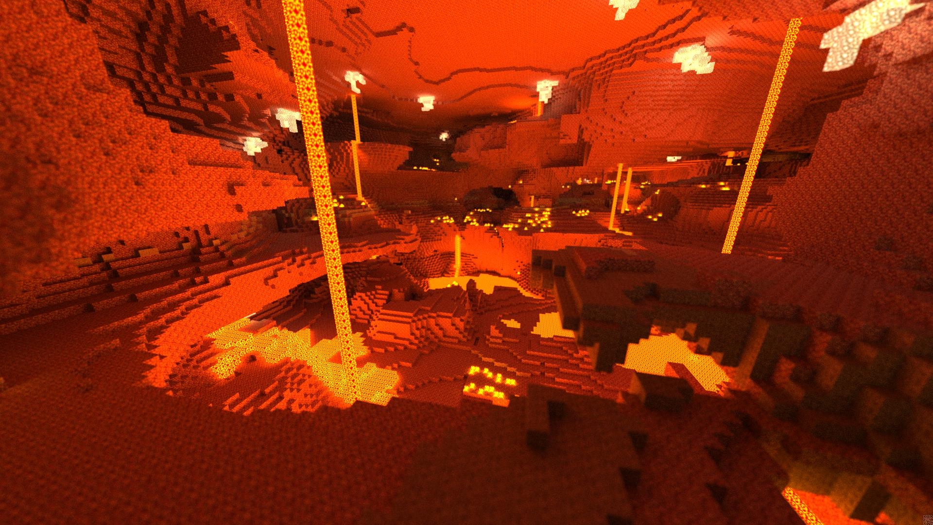 Minecraft Volcano Hd Wallpapers Space Elephant 1920x1080