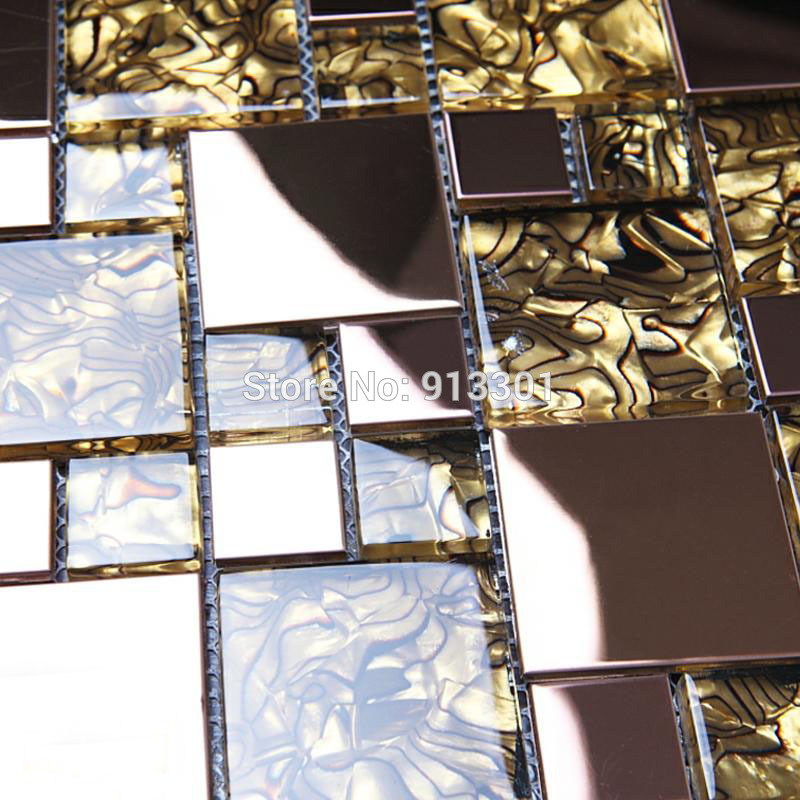 glass and metal backsplash cheap stainless steel mosaic tile crystal 800x800