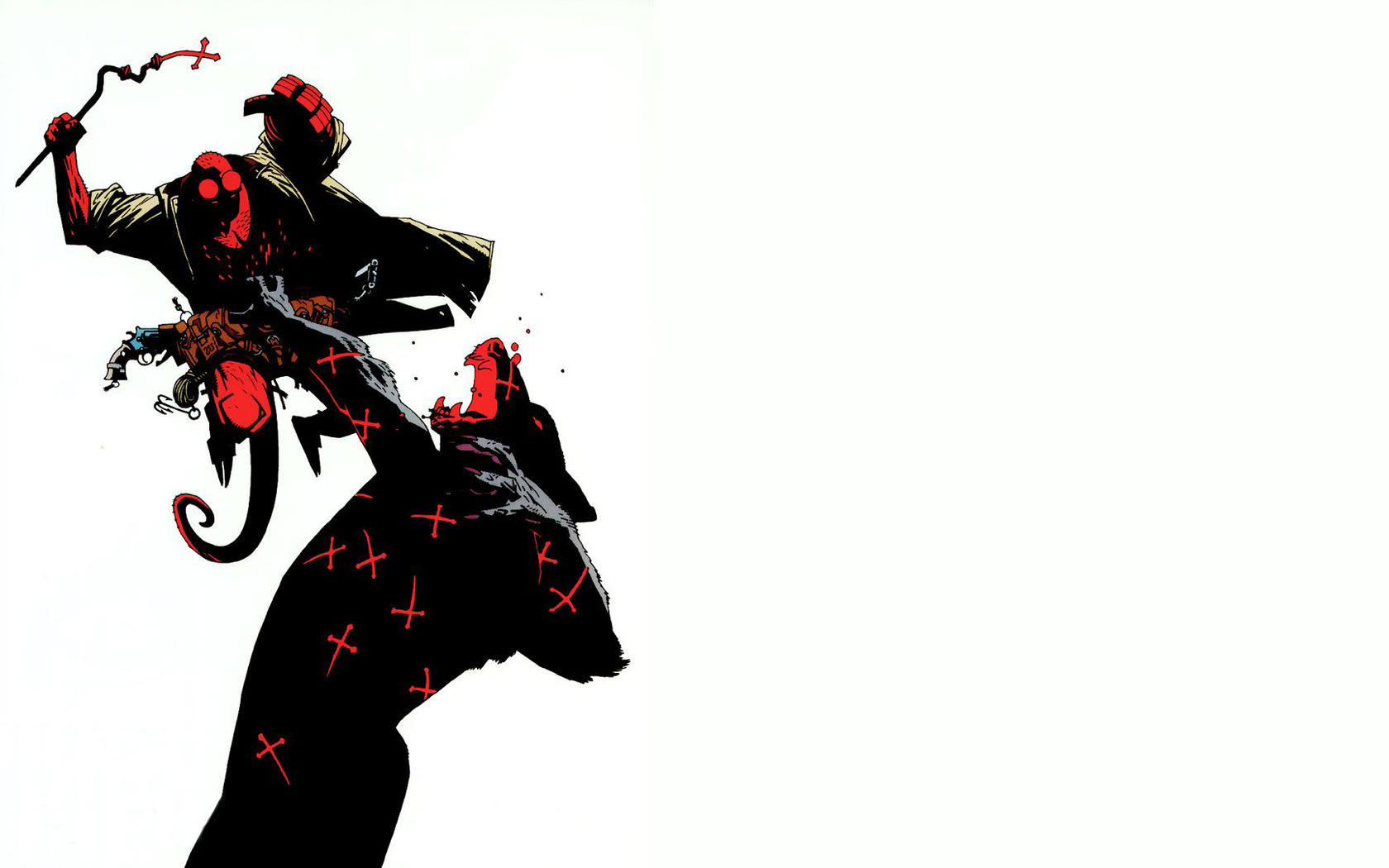 Hellboy wallpaper 17994 1680x1050