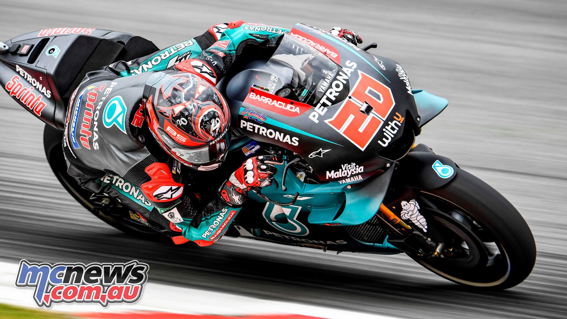 Fabio Quartararo fastest at Catalunya MotoGP Day 1 MCNewscomau 1920x1080