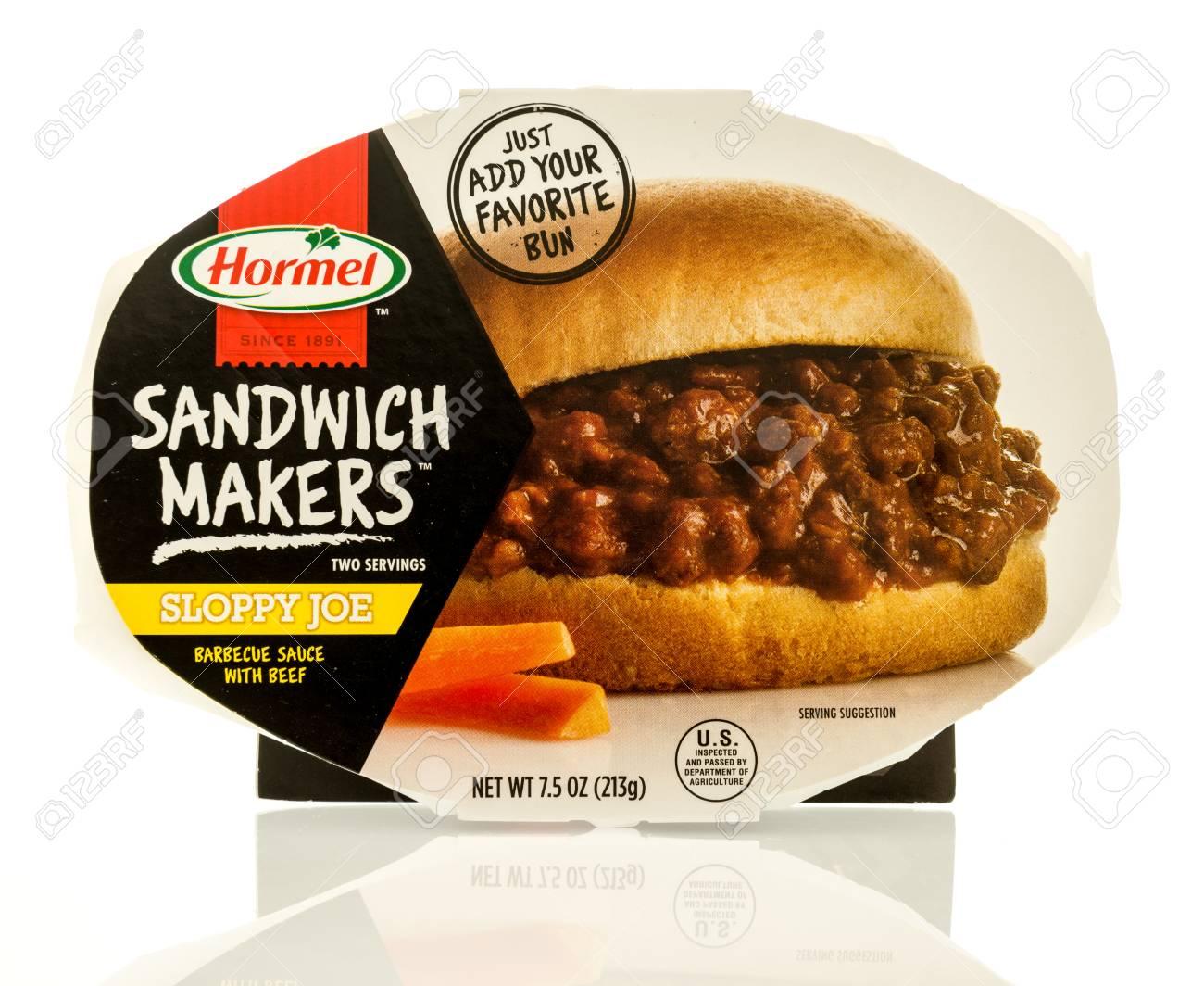 Winneconne WI   13 May 2017 A Package Of Hormel Sandwich Makers 1300x1064