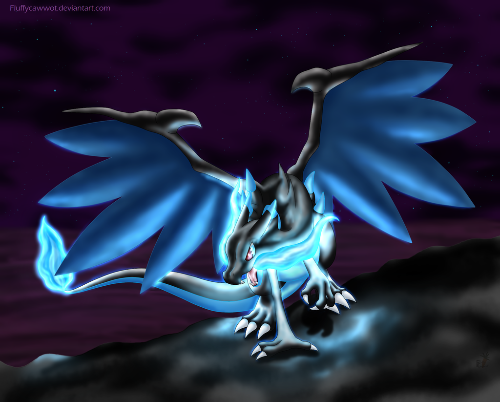 Charizard Mega Evolution X by fluffycawwot 1024x823