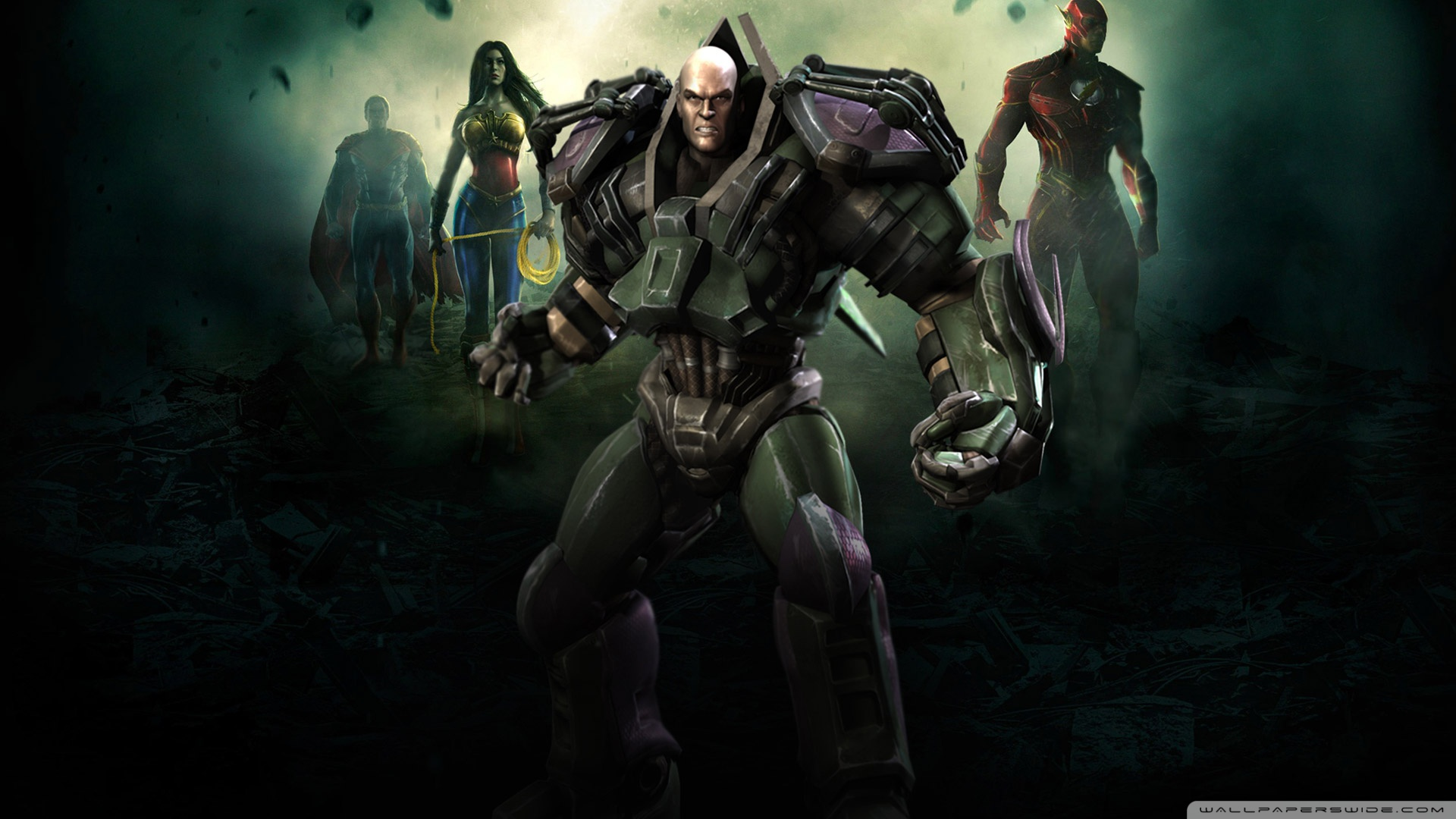 Injustice Gods Among Us   Ultimate Edition lex luthor wallpapers and 1920x1080