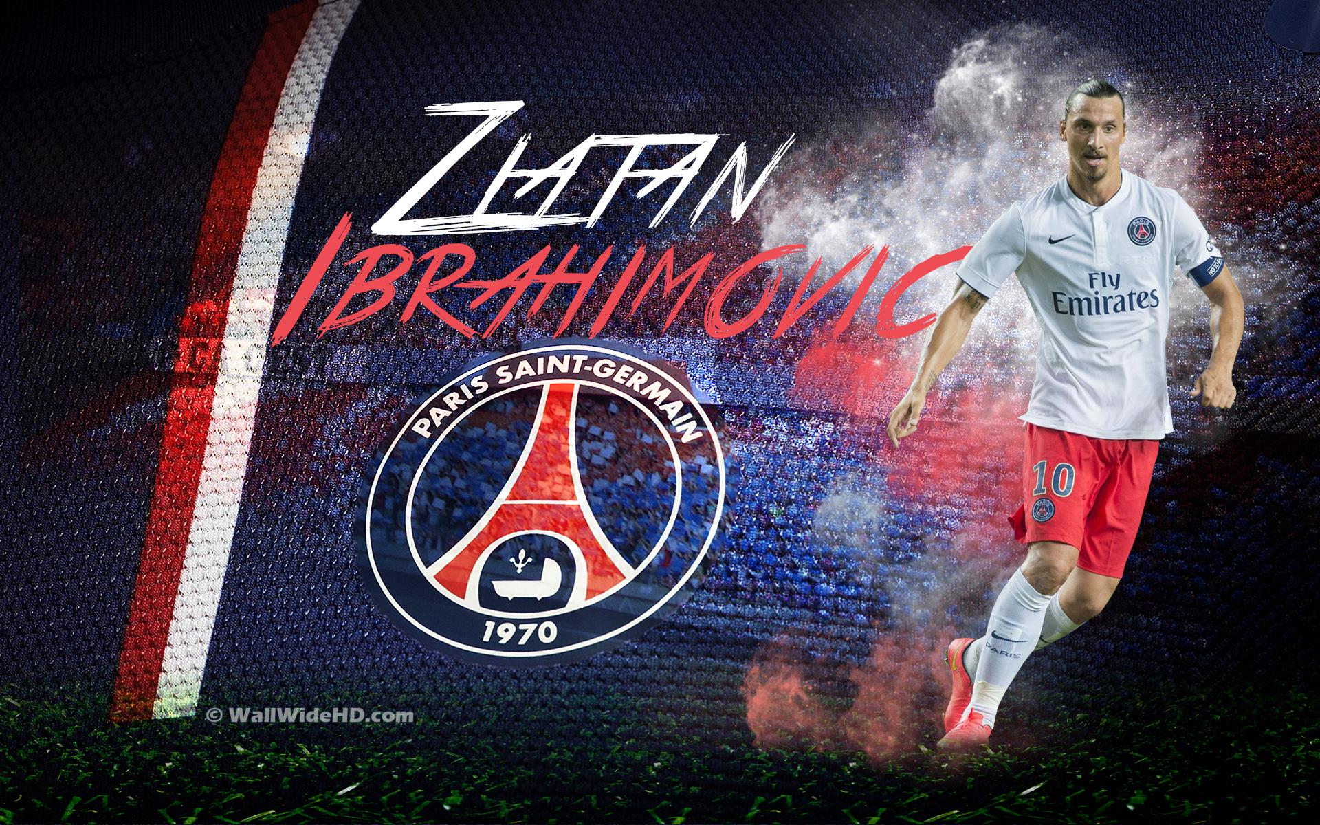 Zlatan Ibrahimovic 2015 PSG Wallpaperjpg Alienware Arena 1920x1200