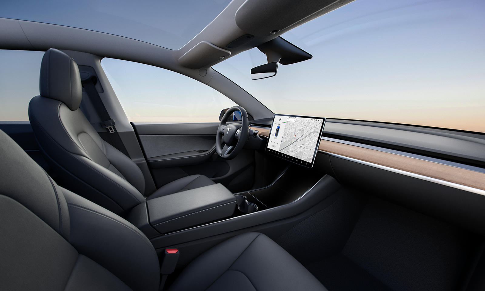 2021 Tesla Model Y Interior Cockpit Wallpapers 7   NewCarCars 1600x960