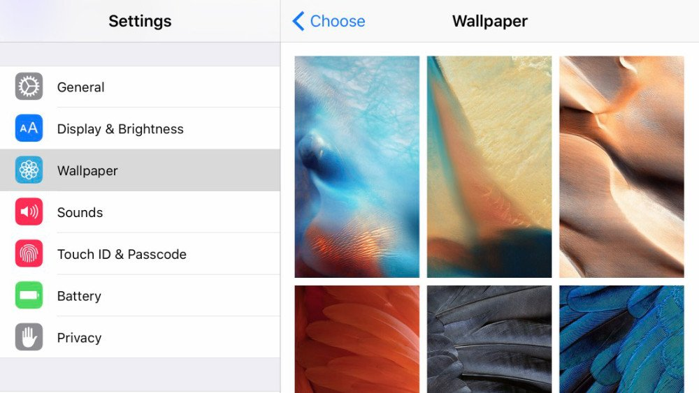 Latest iOS 9 beta adds beautiful trippy new wallpapers to show off 1000x563