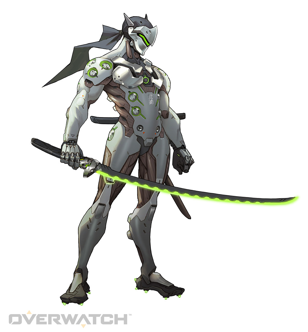 Genji Original Green   Overwatch by PlanK 69 1019x1100