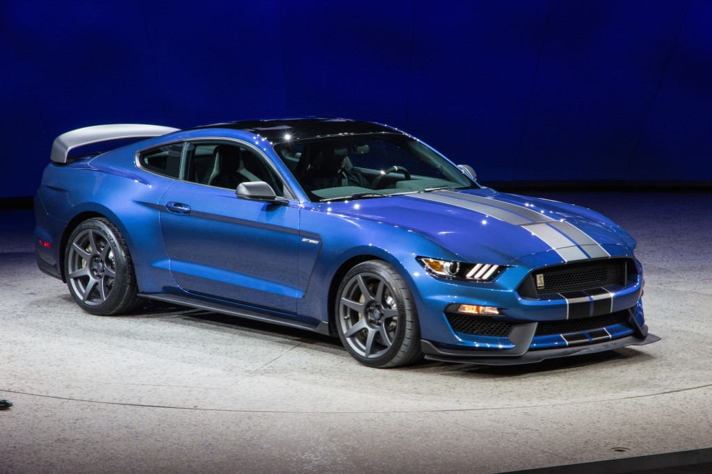 2016 Ford Mustang Shelby GT350 HD Wallpapers 1024x682