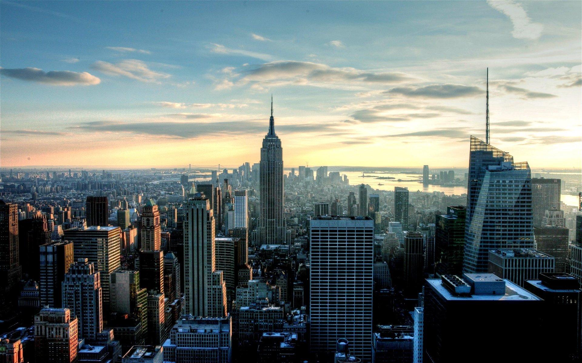 New York City Skyline Wallpapers wallpaper wallpaper hd background 1920x1200