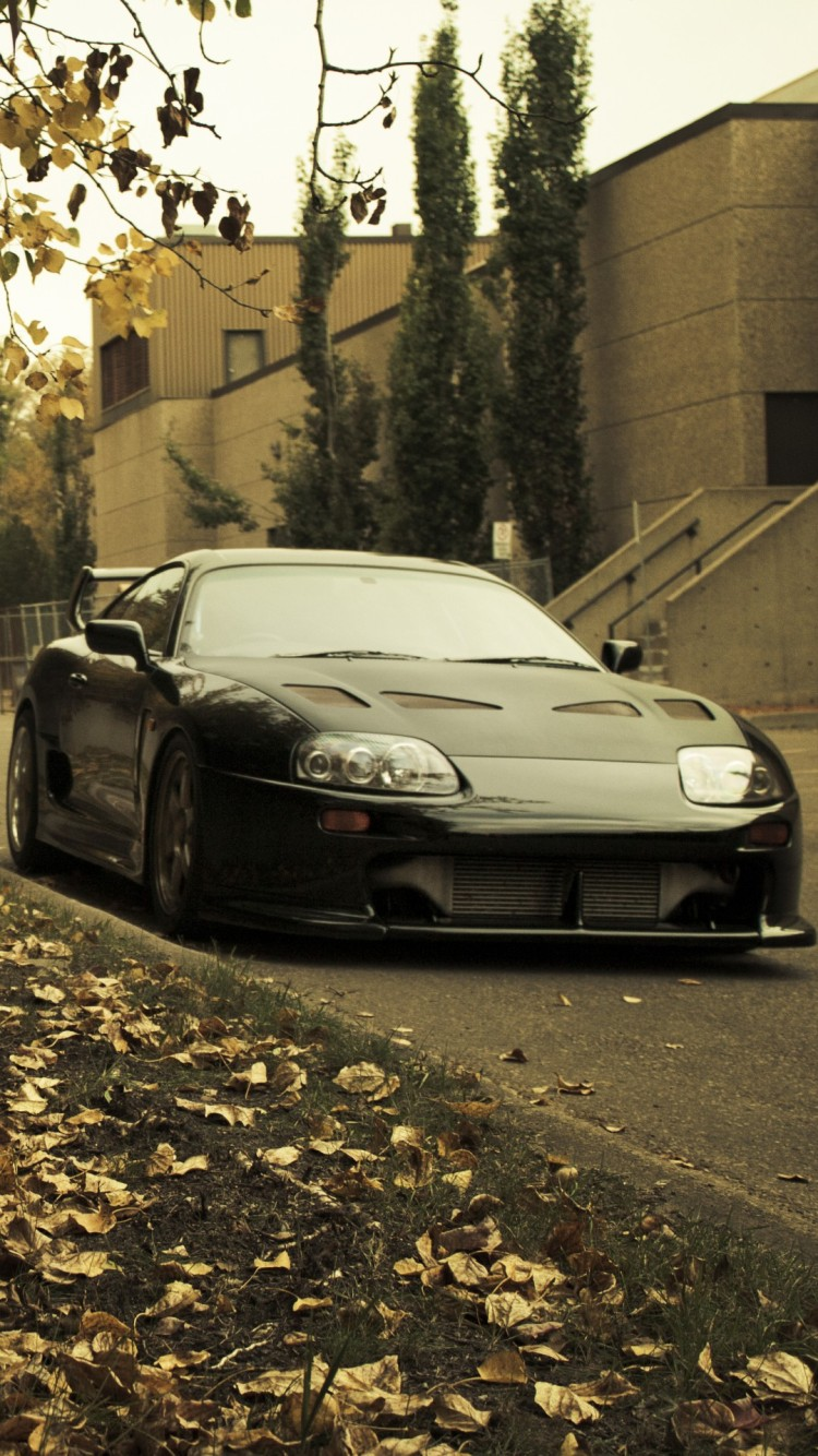 Toyota Supra iPhone 6 6 Plus and iPhone 54 Wallpapers 750x1334
