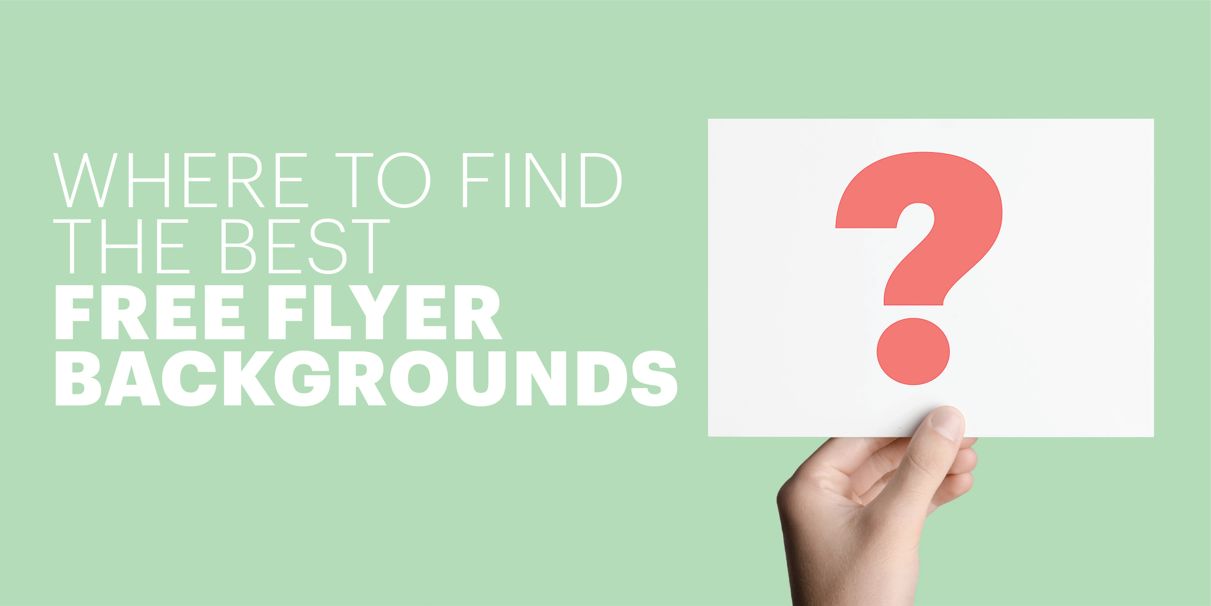 Where to Find the Best Flyer Backgrounds 5001x2501