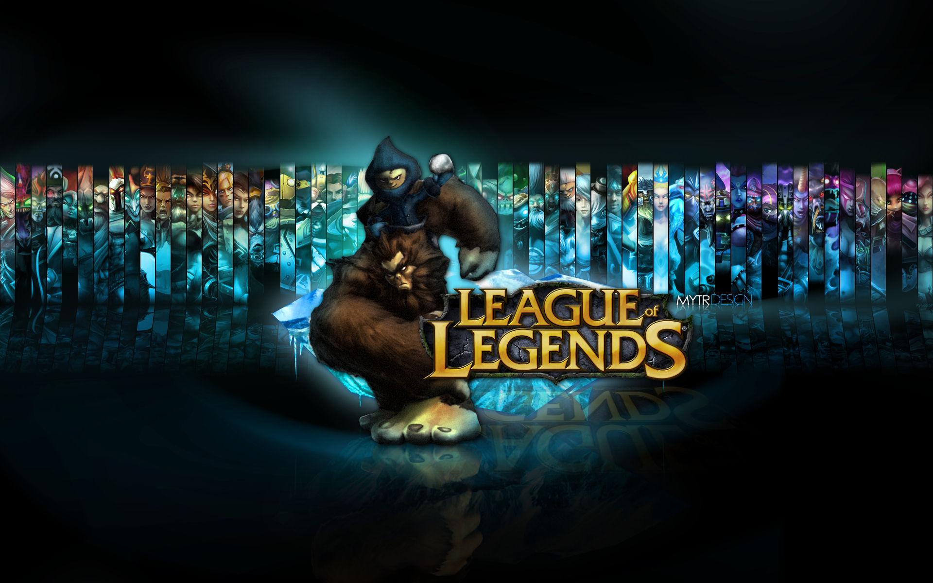 hd league of legends wallpapers wallpapersafari