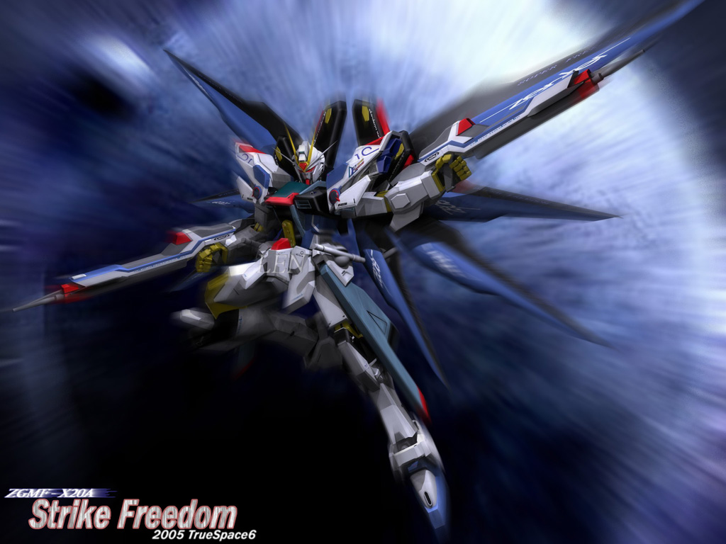 GUNDAM WALLPAPERS for my Facebook Fans the rest of the world 1024x768