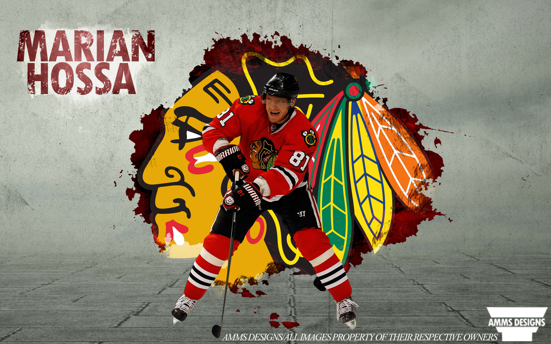 NHL Wallpapers   Marian Hossa Chicago Blackhawks 2014 wallpaper 2880x1800