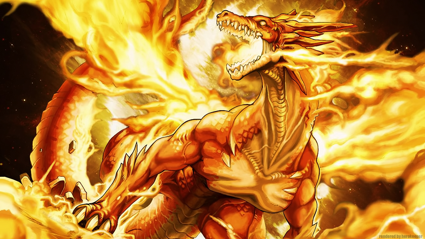 Fire Dragon Wallpapers HD Wallpapers Pics 1366x768