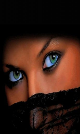 Sexy Eyes Live Wallpaper App for Android 307x512
