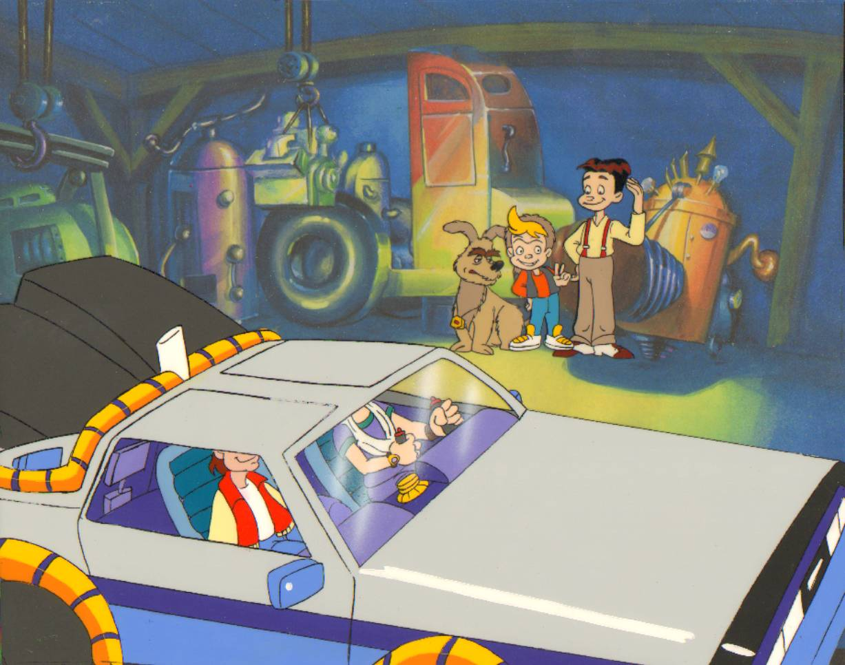 Back to the Future Animated Series Production Cel   Back to the 1227x966