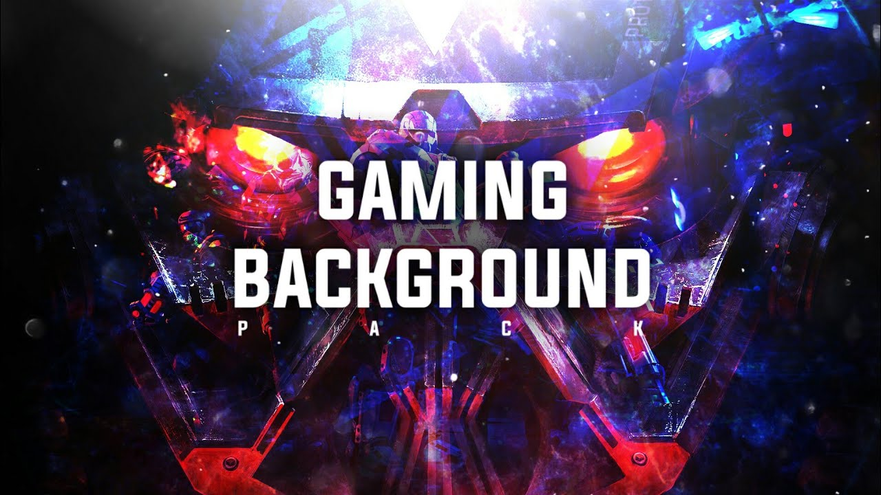 Gaming Wallpaper pack for designers and youtubers 1280x720